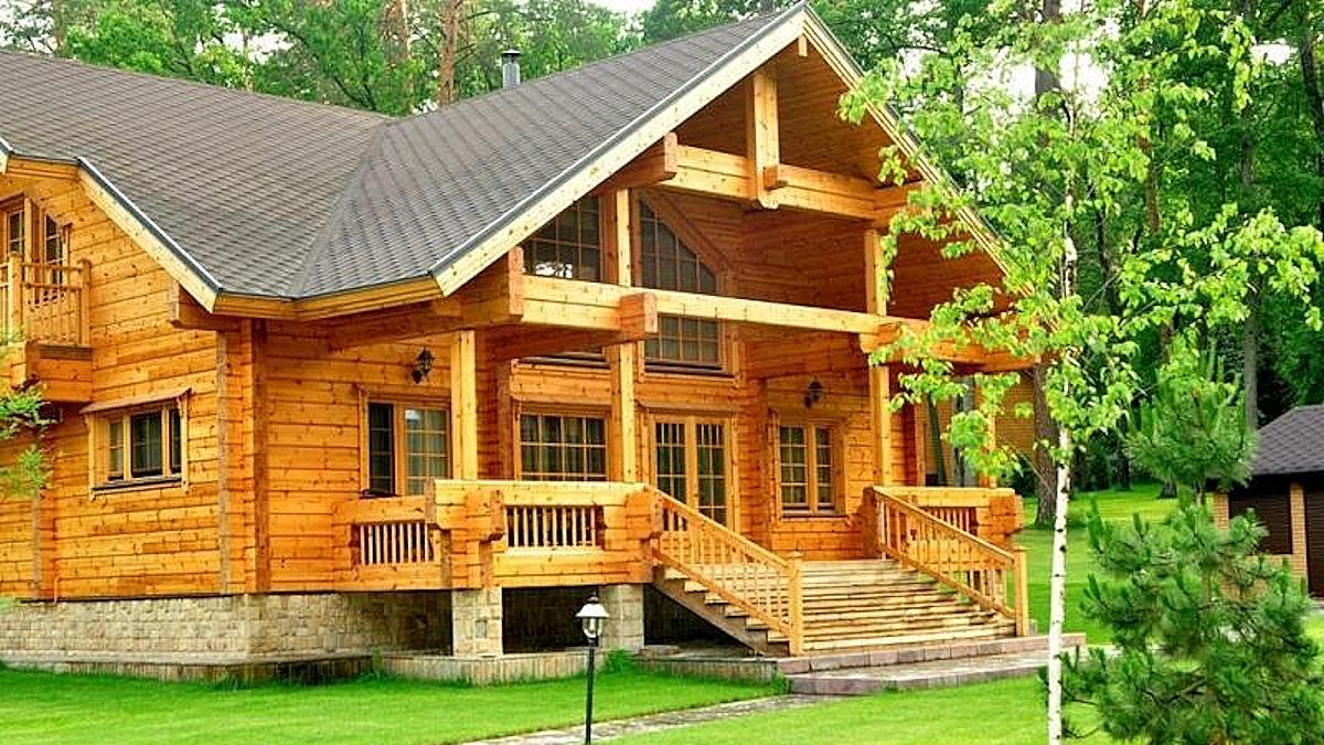Строительство домов из бруса под ключ недорого