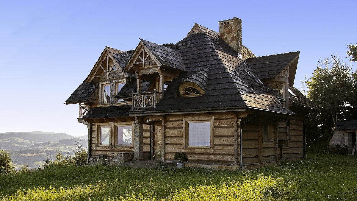 Строительство домов из бревна под ключ недорого